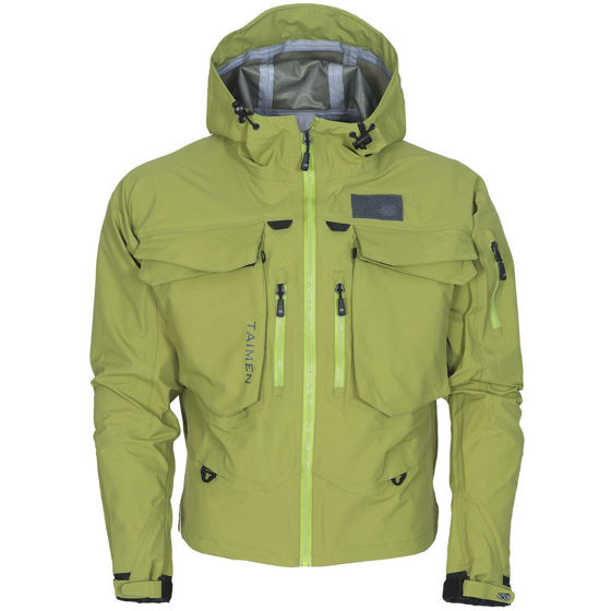 Picture of Taimen Ponoy Jacket Golden Lime M