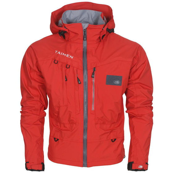 Picture of Taimen Selenga Jacket Flame Scarlet XL
