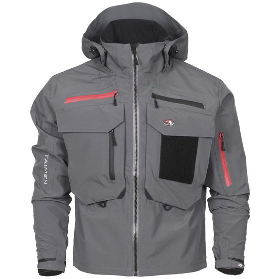 Picture of Taimen Tugur Jacket Gray M
